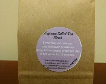 Migraine relief tea blend (2 oz. )
