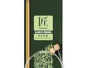 Clover 20 Inch Size 15 Takumi  Bamboo Knitting Needles FLEX Part No. 3017-15