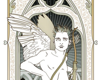 Eros Mythological gicleé print