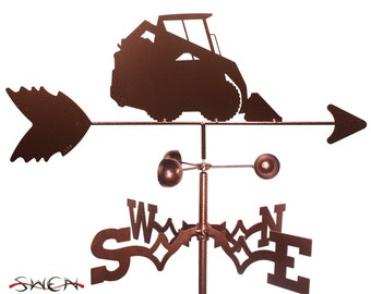 Hand Made Skid Steer Loader Weathervane NEW