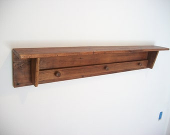Reclaimed wood - 5 foot Quilt Clamp with shelf [TC94-5]