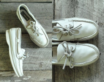 Womens Boat Shoes Size 7  //  Womens Deck Shoes Size 37.5  //  THE DEXTER