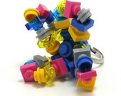 BRUXELLES Mix ring made with LEGO bricks