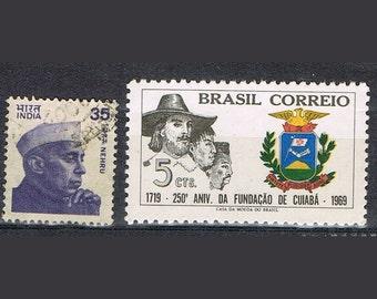 53  Postage Stamps - Hats - Headdresses