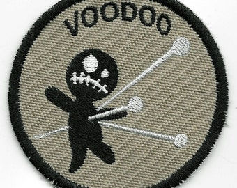 Voodoo Geek Merit Badge Patch