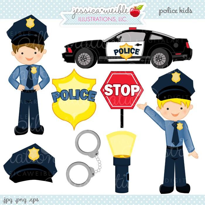 Police clip art | Etsy
