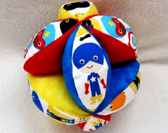 Superhero Plush Grab Ball
