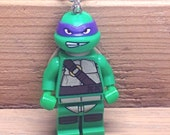 Donatello Necklace - Lego Minifigure - Teenage Mutant Ninja Turtles