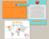 The Monica Save the Date Card