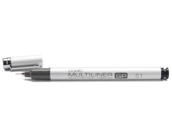 Copic Multiliner SP Individual Black Pen with 0.1mm Nib -  Refills  & Replacement Nibs available