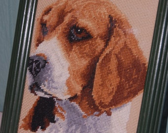 Completed and Framed - Beagle