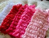 Solid Petti Romper, Lace romper, red lace romper, white romper, ivory romper, pink romper, hot pink romper, light pink
