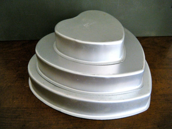 cake pan sizes for wedding cakes 3 cake pans 3 nesting sizes professional by 12300