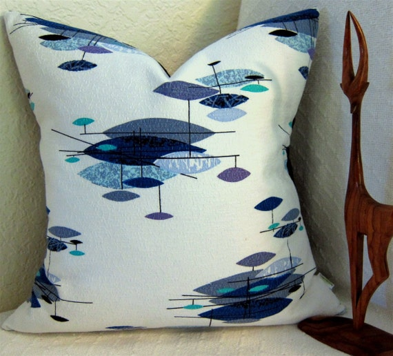 Mid Century Modern Pillows Etsy : Mid Century Modern Pillow Cover Vintage by atomiclivinhome