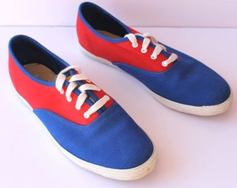 Primary Colors Simple Lace Up Beanie Shoe