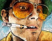 """Fear and Loathing's """"Keep Your Eyes Peeled"""" - 18x24 Archival Print"""