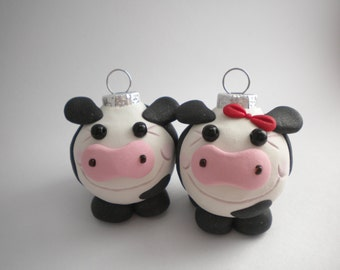 Cow Mini Ornaments