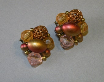 Vintage Color Shifting Earrings