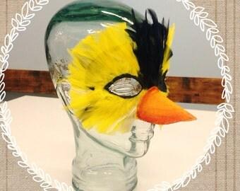 Goldfinch mask