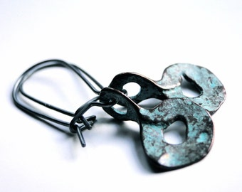 SALE Sterling Silver Boho Chic Jewelry, Dangle Earrings, Classic Drop Earrings Metalwork Earrings, Accessories, Gift for Her, Gift Box