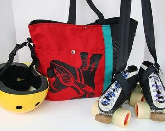 Custom Mega Bag, Our power skate large shoulder bag made to order!