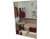 "20"" x 30"" Front Chipped Frameless Rectangle Mirror"