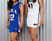 Vintage Style Duke Basketball Jersey Dress
