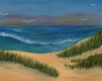 Classic Seascape -  Acrylic Seascape Painting