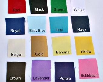 """1.5"""" Grosgrain Solid Colors Ribbon"""