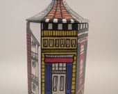 New Orleans Archetecture Six Sided Box