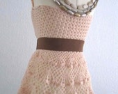 Crochet Pattern - Lithe and Pierced Crochet Dress, Shawl or Skirt PDF Pattern - SWL04272014-01 - Instant Download
