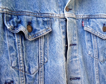Levis  Vintage 80s Denim Jacket