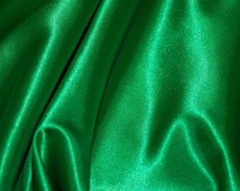 Satin Chair Sash 6 in x 106 in - EMERALD GREEN - Great for weddings or parties