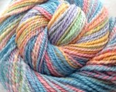 Sale Hand Dyed Easter Egg Shetland Wool 150 yards