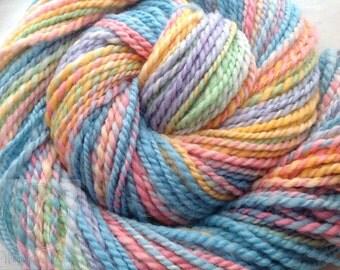 Sale Hand Dyed Easter Egg Shetland Wool 150 yards