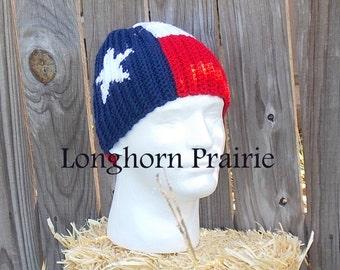 Texas Flag Beanie hat