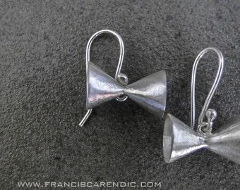 Duo cone earrings