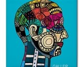 65% Off- Anatomy Art Tile Ceramic Coaster Medical Science Brain Print on Tile (HG855)