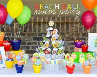 Beach Party Ideas (PRINTABLE) by Love The Day