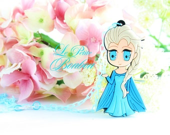Elsa Anime necklace