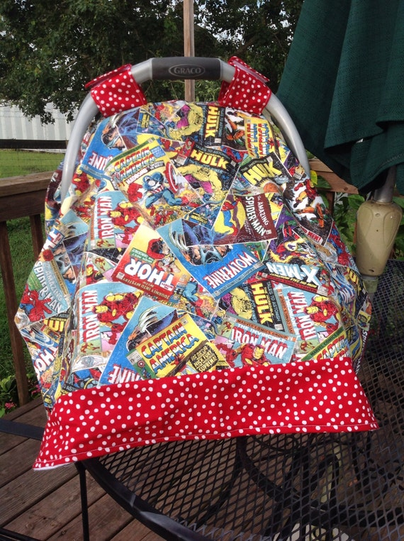 Like this item? & Marvel Comics Infant Seat Canopy/Car Seat/Tent Cover