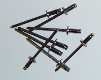 Stainless Steel Pop Rivets, Package of 100