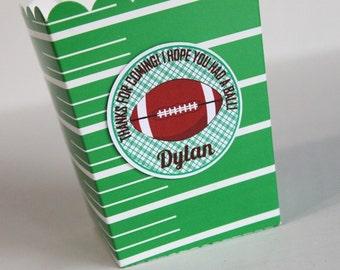Football party tag - football birthday, favor tag, football party favor, tailgate party, favor box tag, cup tag, embellishment