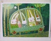 Rabbit journey card