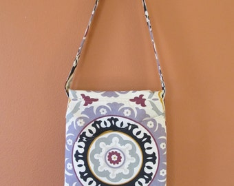 Louise 1429E  Beautiful Turkish Design Summer Purse With Diagonal Flap and Pocket, Lap Top