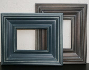 20x30 Picture Frame / Whistler Style /  Gray Washed Brown or Navy