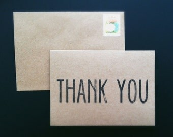 100 Thank You Cards