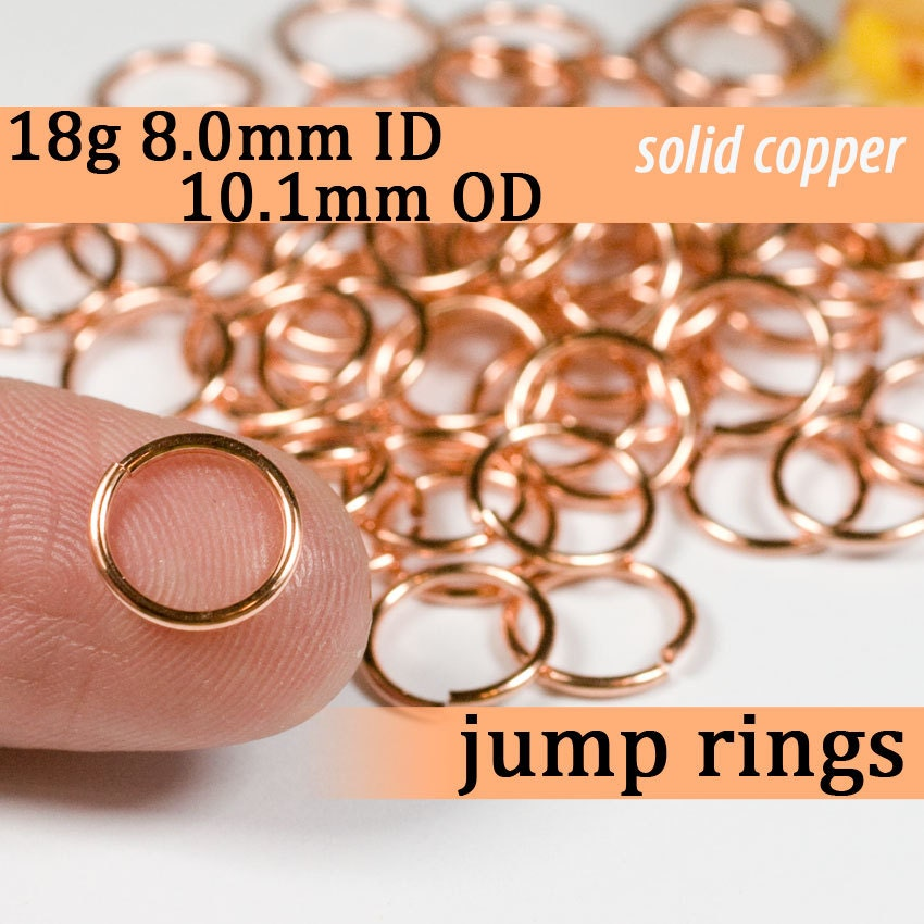 How Many Jump Rings Are In An Ounce G