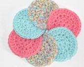 Crochet Scrubbie, Cotton Scurbbies
