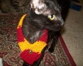Harry Potter pet scarf